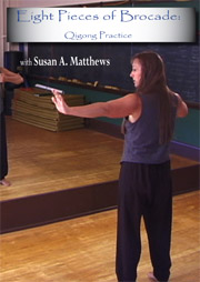 Eight Pieces Qigong DVD Susan Matthews